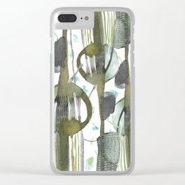 fresh notes Clear iPhone Case