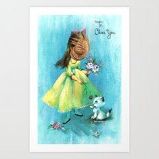 To Cheer You (face hugger) Art Print