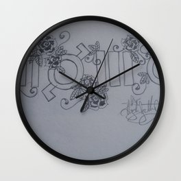 Echelon. Yes This Is A Cult. Wall Clock