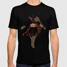 Assassin's Creed - Ezio Auditore da Firenze Black Mens Fitted Tee LARGE