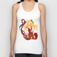 enjolras Tank Tops featuring Enjolras by thenonsensicalcephalopod