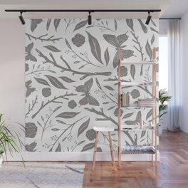 Birds & Blooms Patterns Wall Mural