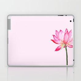 pink lotus flower Laptop & iPad Skin
