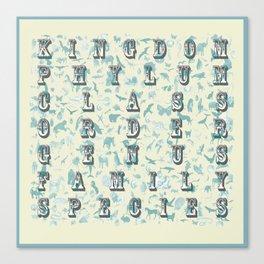 Taxonomy Canvas Print