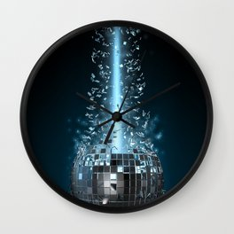 Disco explosion Wall Clock