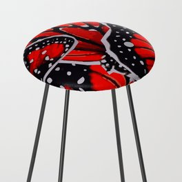 red monarch Counter Stool