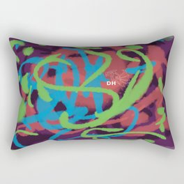 Art Is Life Rectangular Pillow