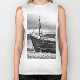 Highland Shipwreck - b/w Biker Tank