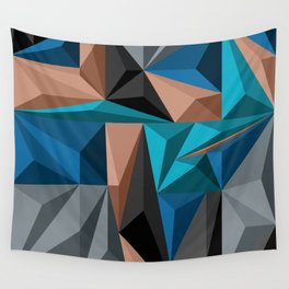 Polygon 2 Wall Tapestry