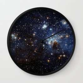 LH 95 in the Large Magellanic Cloud Wall Clock