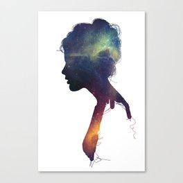 Stellar Girl Canvas Print