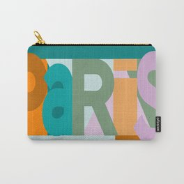 Paris font play art deco style Carry-All Pouch