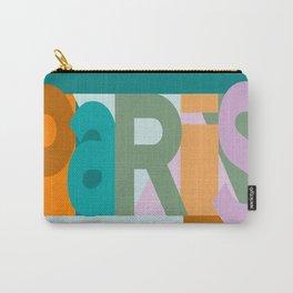 Paris font play art deco style Carry-All Pouch