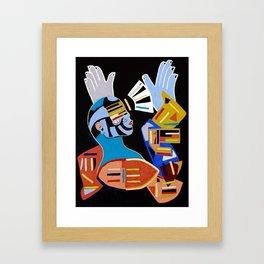 Building Belief Framed Art Print