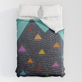 Triangle Mountain Comforters