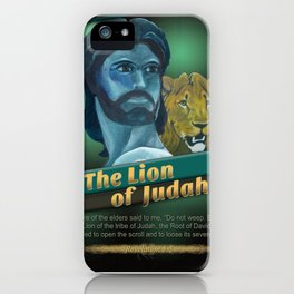 The Lion Of Judah 1 iPhone Case