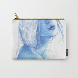 Blue skin Carry-All Pouch