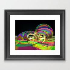 Rain Bands Framed Art Print