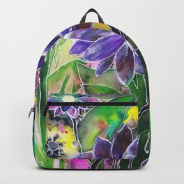 Spring Garden In Bloom Backpack