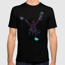 Space crystals for good luck T-shirt