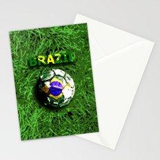Old football (Brazil) Stationery Cards