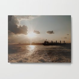 TOPKAPI SUNSET Metal Print