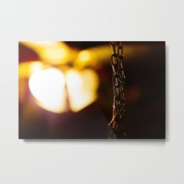Rusty Illumination Metal Print