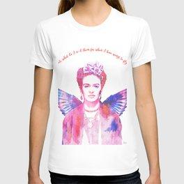 Winged Frida T-shirt