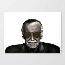 Stan Lee cool Canvas Print