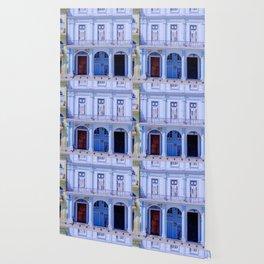 Colonial Building in Old Havana Cuba Wallpaper