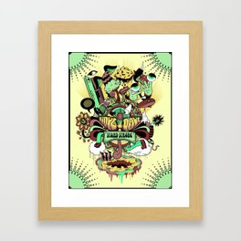 Stand Strong Framed Art Print