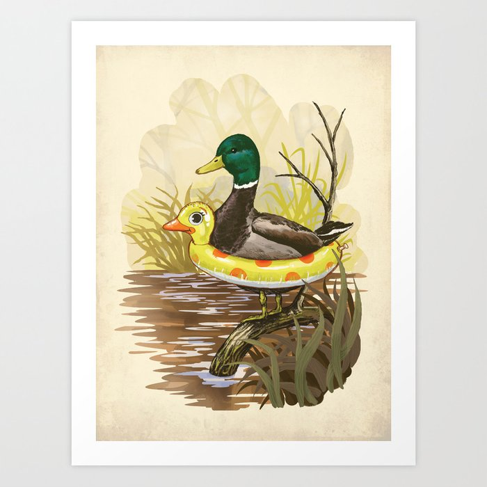 Modern Flying Duck Wall Decorations Picture Collection - Wall Art ...