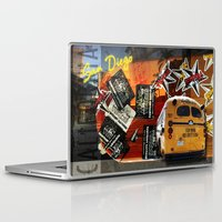 san diego Laptop & iPad Skins featuring SAN DIEGO by MFY ★ design lab