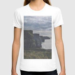Cliffs of Moher landscape print Ireland T-shirt