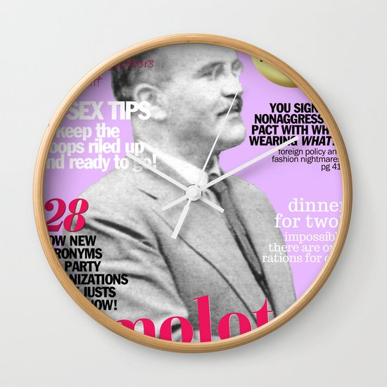 COSMARXPOLITAN, Issue 17 Wall Clock
