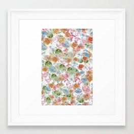 Colour tracks Framed Art Print