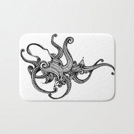 Henna Octopus Bath Mat