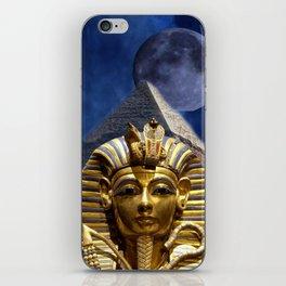 King Tut and Pyramid iPhone Skin