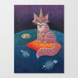 The Alpha Female Canvas Print