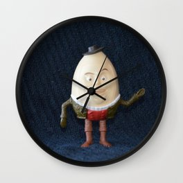 Humpty Dumpty Wall Clock