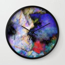 paper & paint Wall Clock