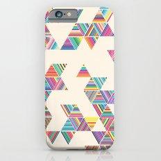 Rainbow Rain iPhone 6 Slim Case