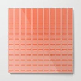 Orangesh Metal Print