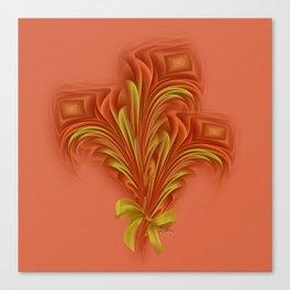Color Meditation - Orange  Canvas Print