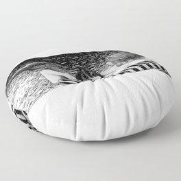 asc 793 - Le rivage de velour (Dive in a velvet slide) Floor Pillow