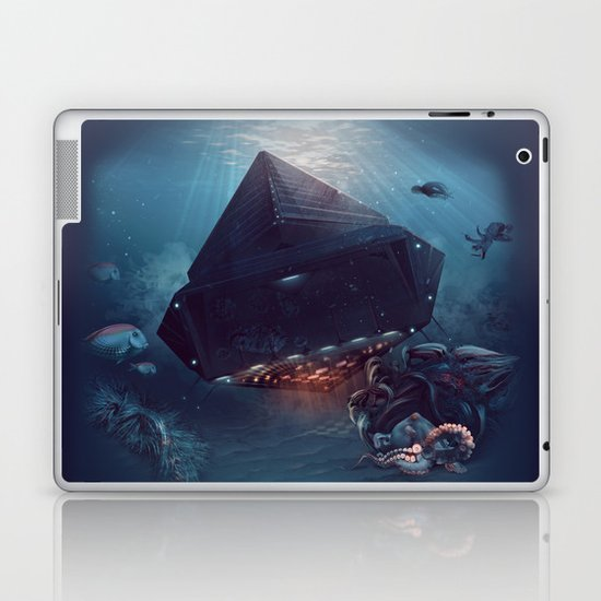 octopus Paul surprised Laptop & iPad Skin