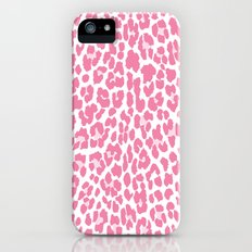 Chic Pink Cheetah Pattern iPhone (5, 5s) Slim Case