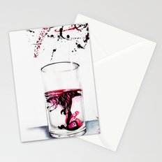 Ink diluted in water Drawing Stationery Cards