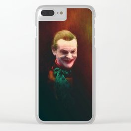 Dance With The Devil Clear iPhone Case