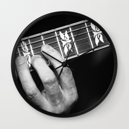 Guitar Hand Wall Clock
